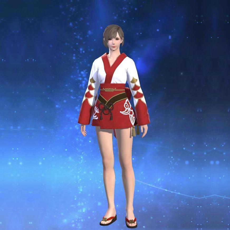 紅染姫君浴衣のサムネイル画像