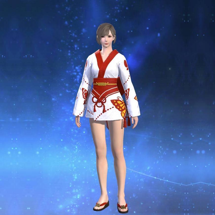 紅蝶姫君浴衣のサムネイル画像