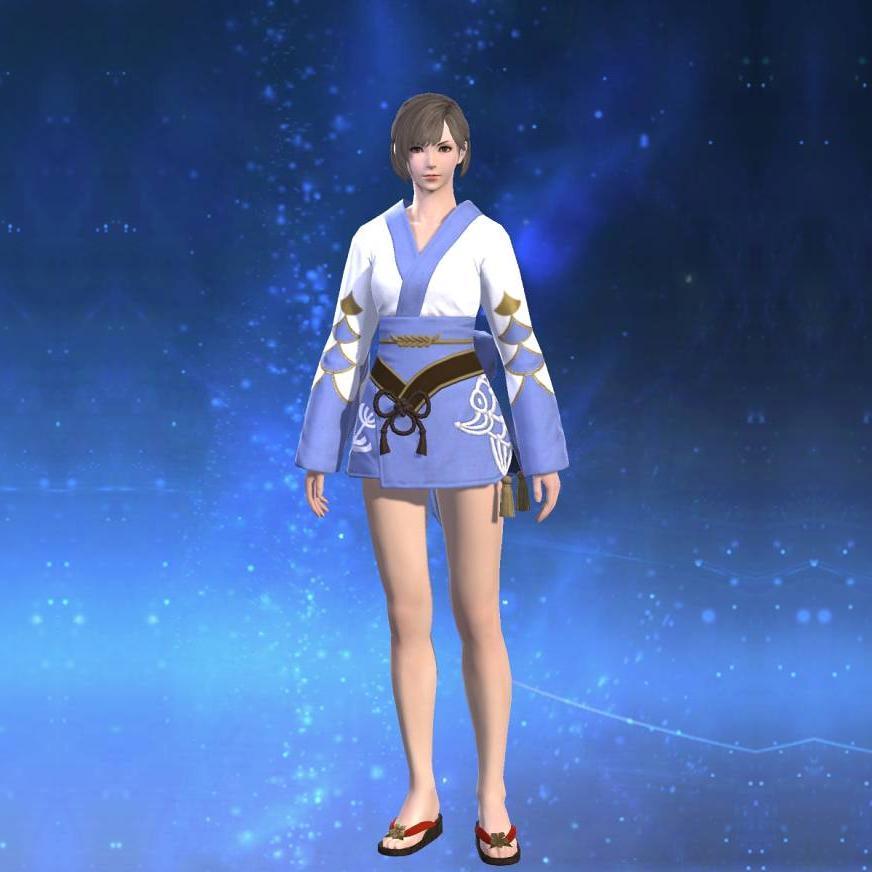 藍染姫君浴衣のサムネイル画像