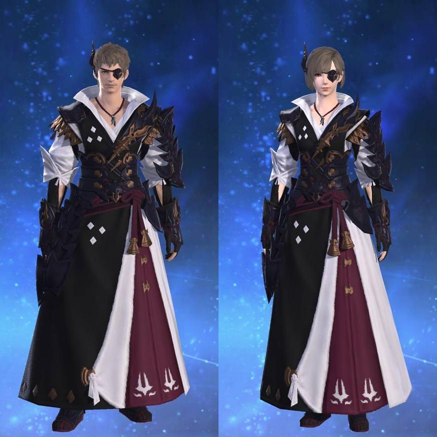 夜叉装束【弓士】のサムネイル画像