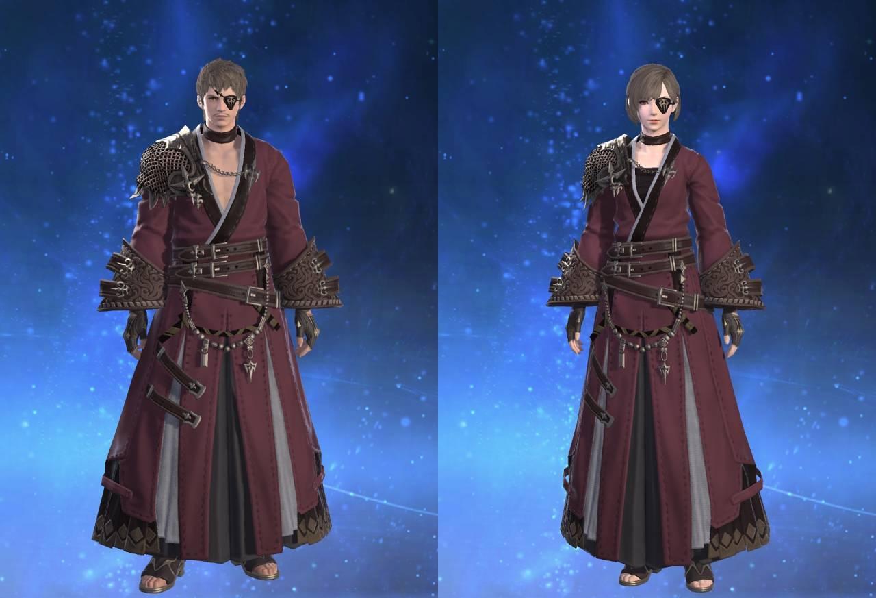 夜摩装束【弓士】のサムネイル画像