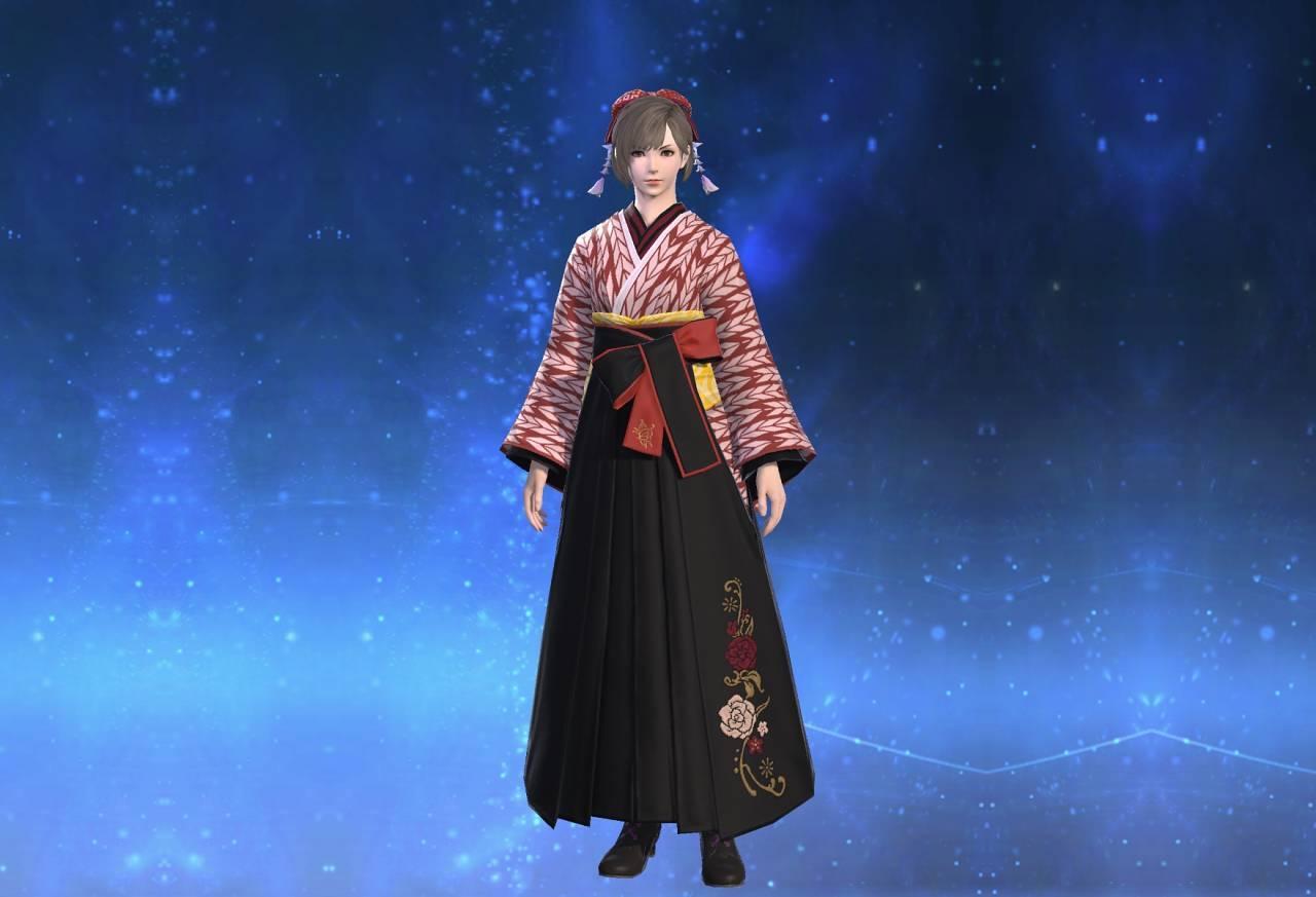 東方女学生装束のサムネイル画像