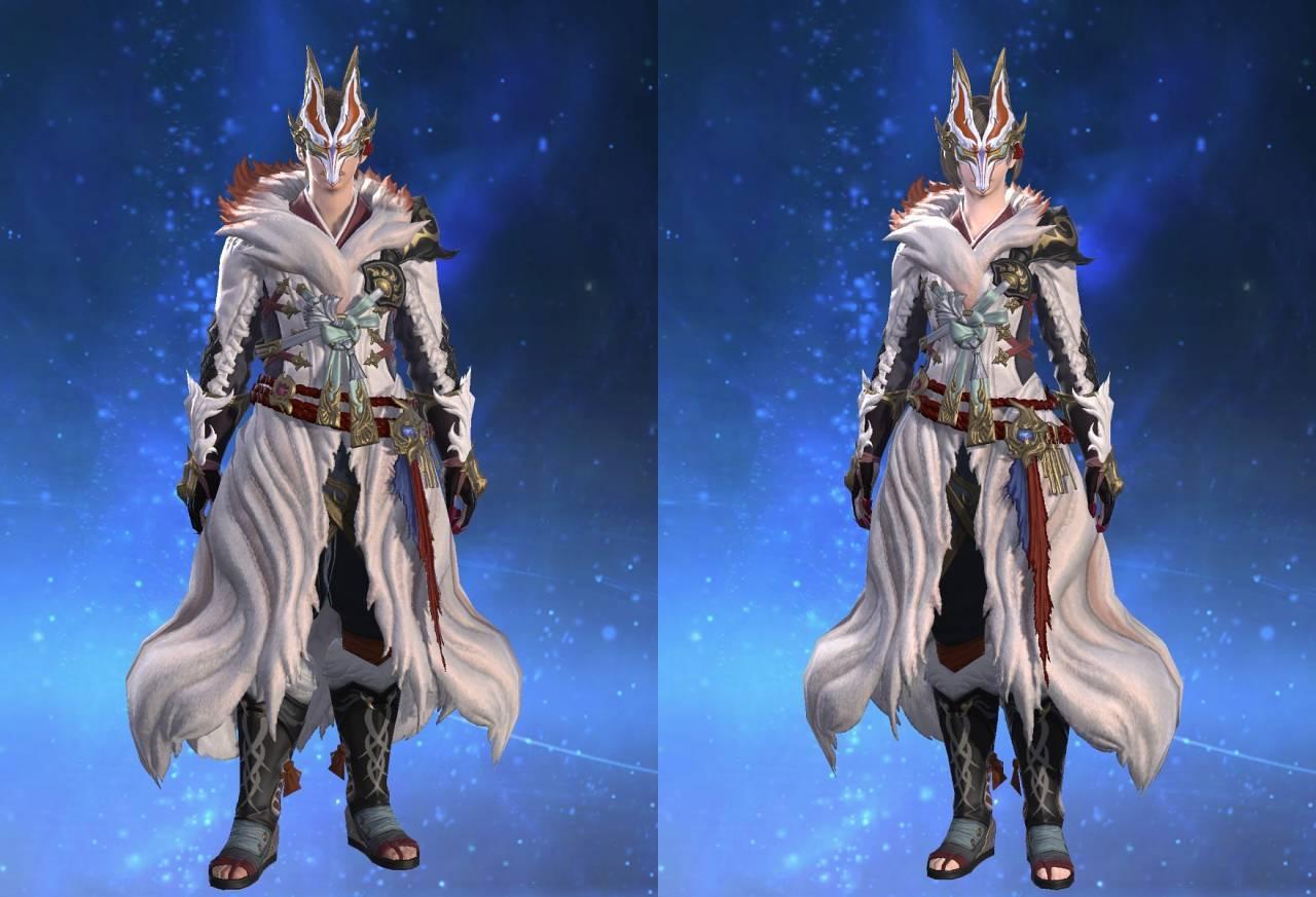 白狐装束のサムネイル画像