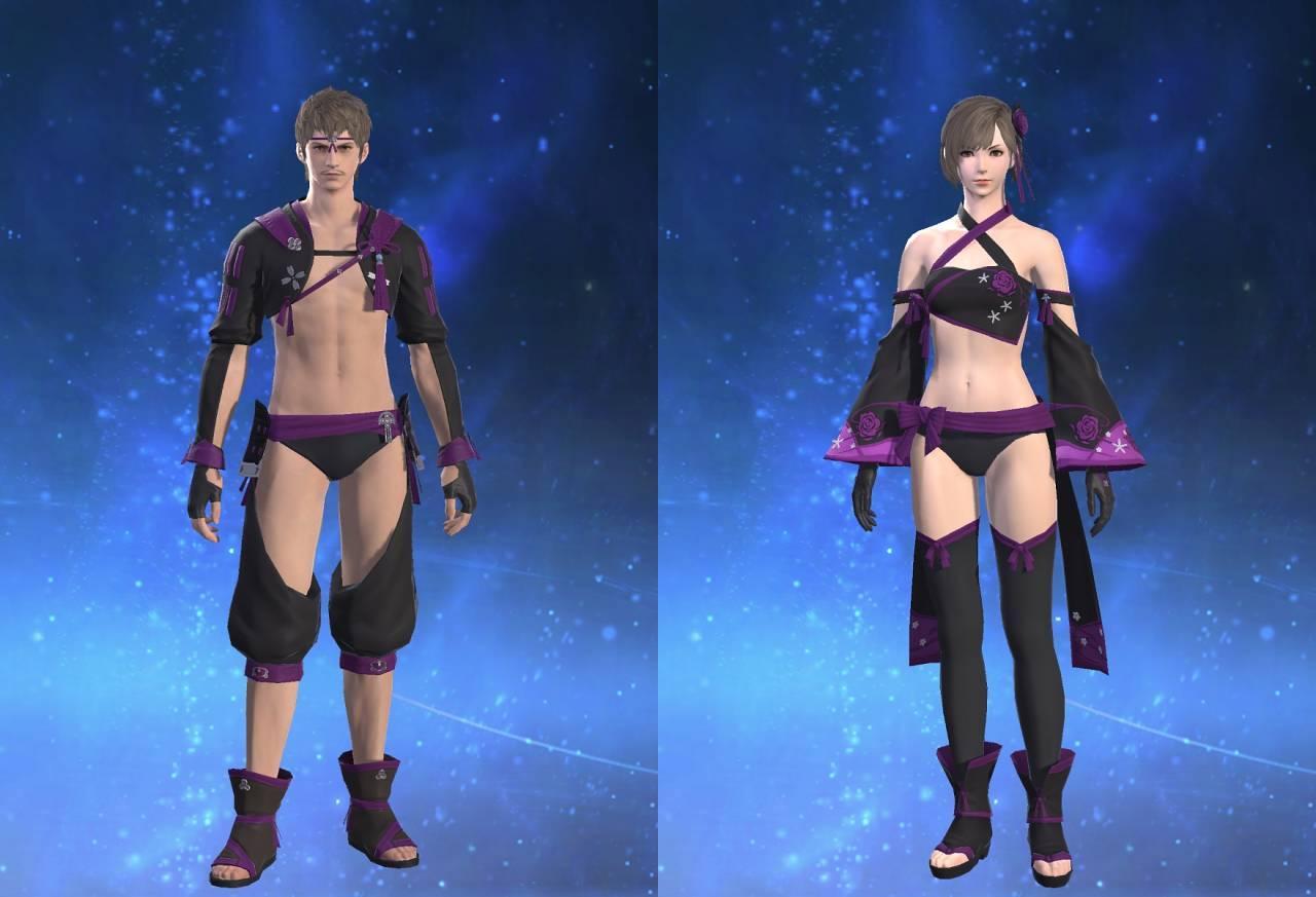 紫水装束【術士】