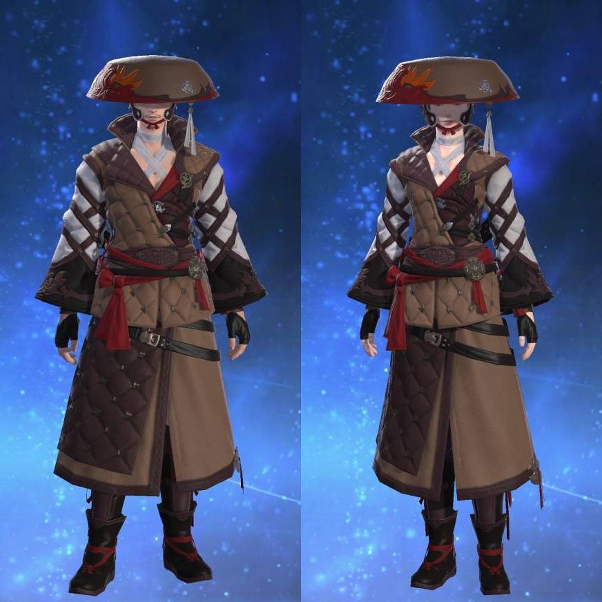 羅漢装束【弓士】のサムネイル画像