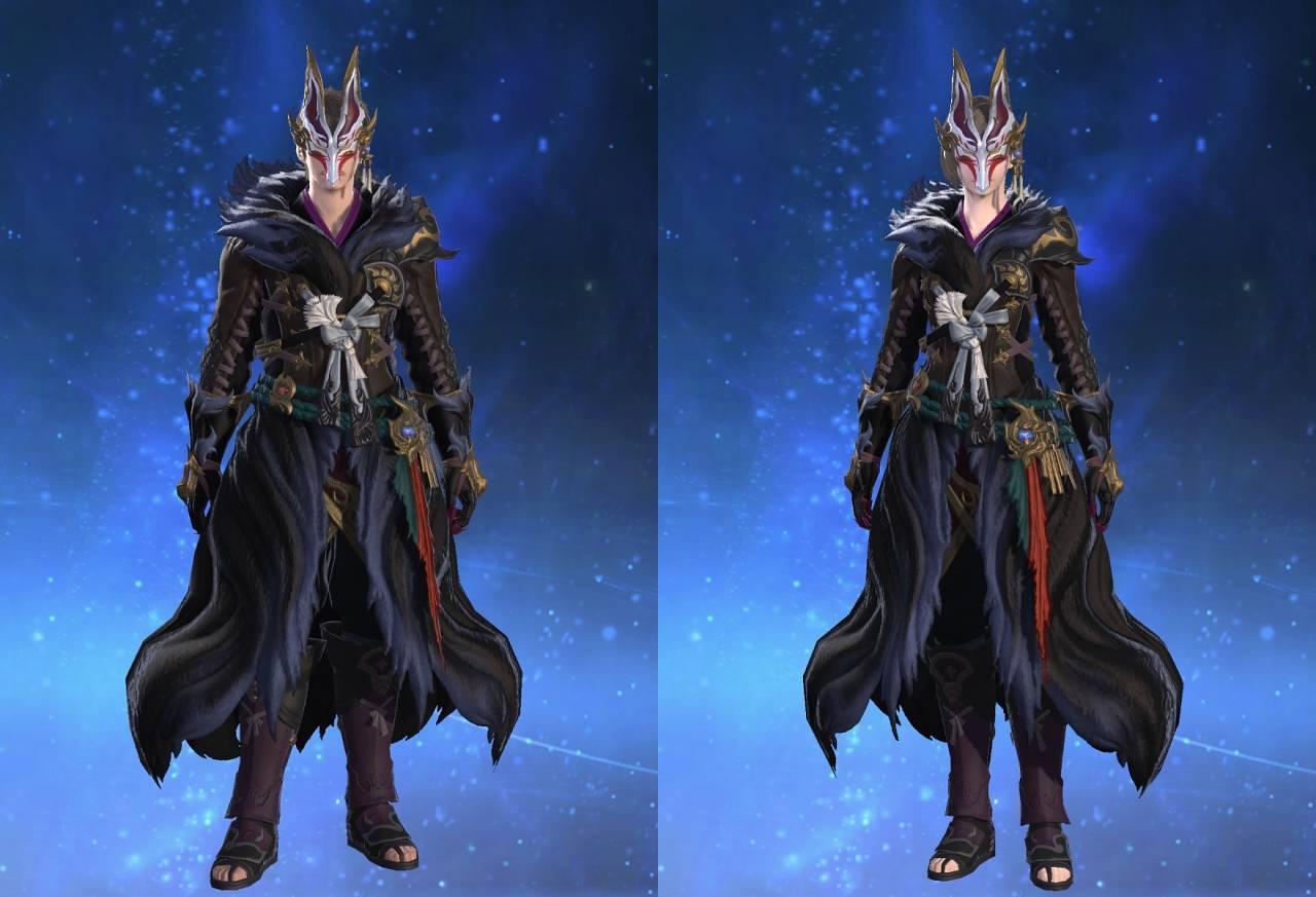 黒狐装束のサムネイル画像